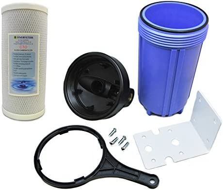 Finerfilters - Sistema purificador de filtro de agua para toda la casa, filtrado de agua para toda la casa con 5 ...