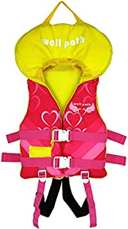 Gogokids Life Jacket Swim Vest for Kids - Boys Girls Heads-Up Float Jacket