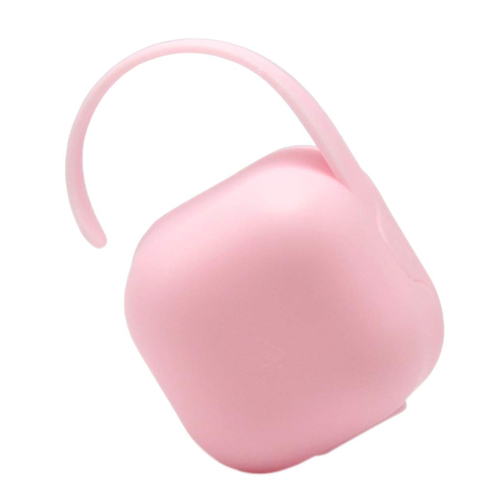 Amazon.com : Fenteer Soother Container, Dummy Keeper Travel Case ...