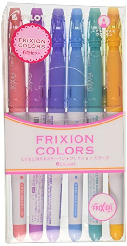 Pilot FriXion Colors Erasable Marker
