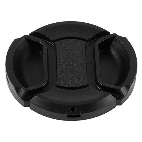 Univeral 49mm Center Pinch Front Lens Cap for DSLR Camera - 1