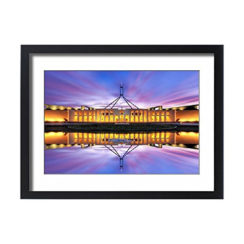 Framed 24x18 Print of Australian Parliament House, Canberra, Australia (12056430)