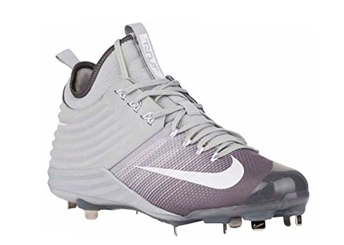 Grey Mike Cleats Lunar Men Baseball Trout White Nike 2 Ig0gq