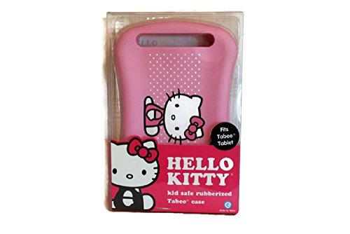 Hello Kitty Tabeo Tablet Case, Rubber Protective Cover Makes Child's Play Safe