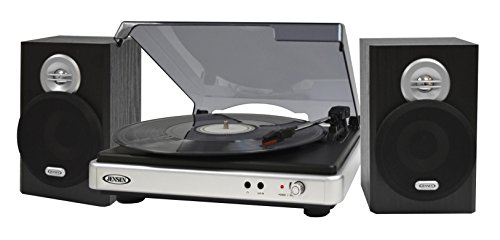 3 Speed Turntable with Stereo Speakers for sale  Delivered anywhere in USA
