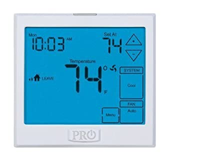 PRO1 IAQ T955 Touchscreen 3 Hot/2 Cold 7 Day Thermostat with 13-Inch Screen by PRO1 IAQ
