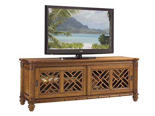 Island Estate - Nevis Media Console (Bahama Lattice Tommy)