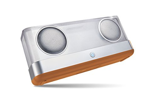 Arisen WindBox Bluetooth Speaker with 20W Output and Air-Duct Subwoofer, Louder Volume with Enhanced Bass, IPX4 Waterproof Portable Wireless Speaker - 1st Generation Brown