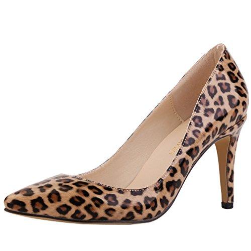 SAMSAY Women's Fashion Pointy Toe High Heels Pumps Dress Shoes ()