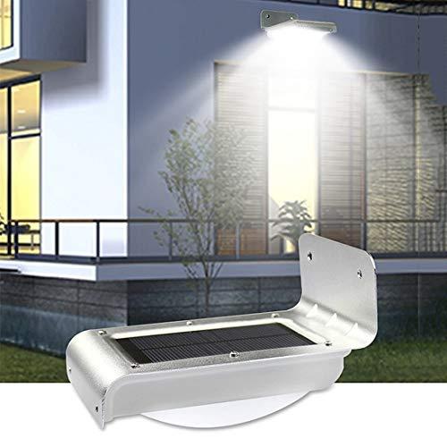 Ewayshine Solar Automatic Outdoor Brightness Sensor Light – 16 Led