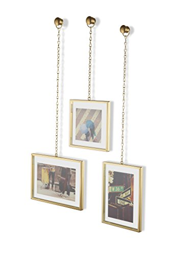 amazoncom umbra fotochain picture frames set of 3 home kitchen