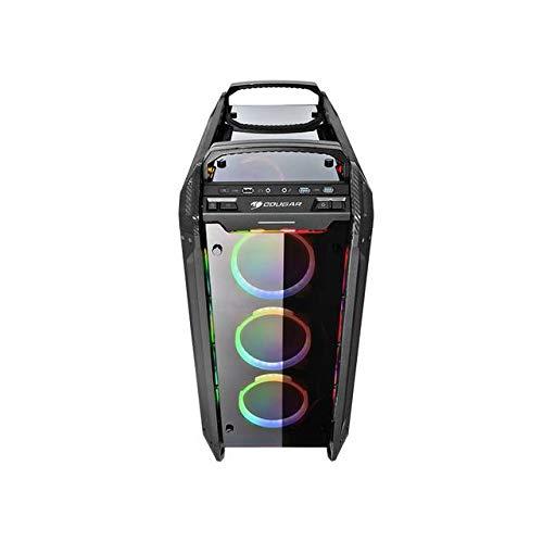 Cougar Panzer EVO RGB Black ATX Full Tower RGB LED Gaming Case with Remote