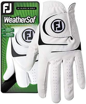 FootJoy Men s WeatherSof Golf Glove White
