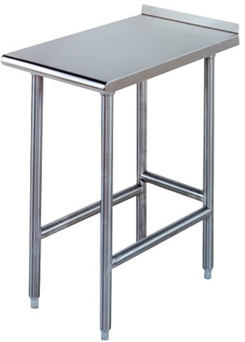 Advance Tabco TFMS-150-X Equipment Filler Table, open base, s/s legs, 1-1/2