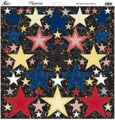 (Reminisce Real Magic 12 by 12-Inch Nested Star Glitter)