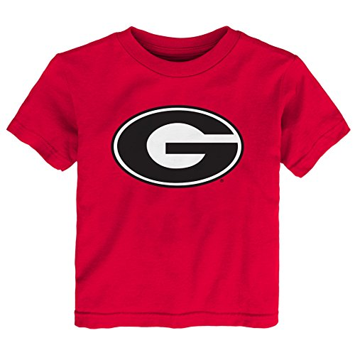 s Toddler Primary Logo Short Sleeve Tee, Red, 2T ()