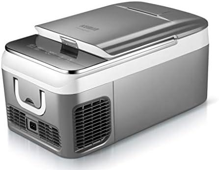 ポータブル冷蔵庫電気クーラーカー冷蔵庫最小冷却効果-20℃キャンプ冷蔵庫ディープミニ冷凍庫旅行化粧クールボックス car+home 18L