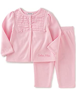 Baby Girls' Jacket with Pants Set