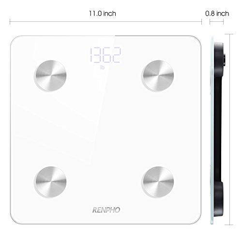 Bmi Bathroom Scale: RENPHO Smart Body Fat Scale Bluetooth Digital Bathroom