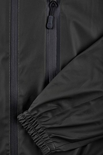 Coat Parka Rains black 01 Uomo Impermeabile Nero z6wwq4