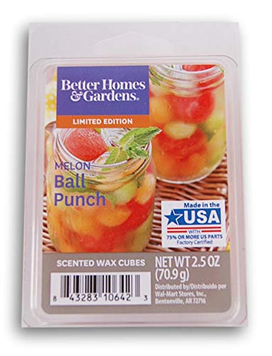 (Better Homes & Gardens Melon Ball Punch 2019 Edition Wax Cubes)