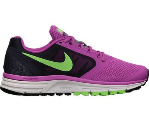 Nike Kvinna Zoom Vomero + 8 Löparskor Club Rosa Flash Lime Gallret 630