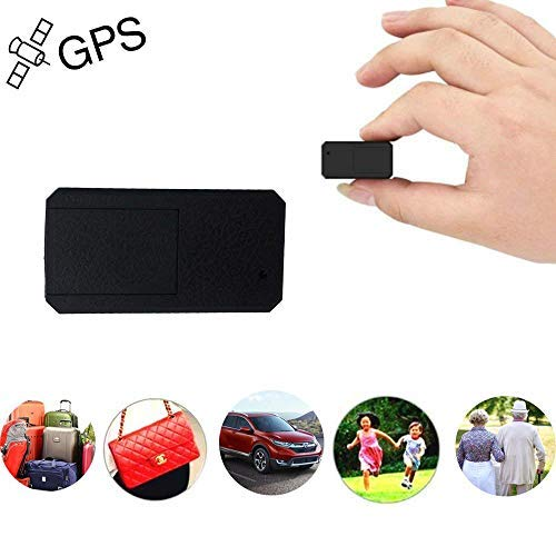 Mini GPS Tracker TKSTAR Anti-Theft Real Time Tracking on App Anti-Lost GPS Locator Tracking Device for Bags Kids Satchels Important Documents Luggage TK901 (Gps Tracker For Tools)