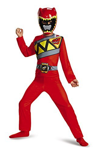 Ranger Dino Charge Basic Costume Child Size (4-6) (Dino Charge Costume)