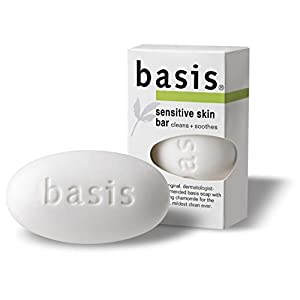 Basis Sensitive Skin Bar 4 Ounce (Pack of 6)