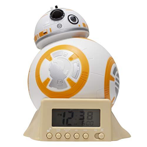 BulbBotz Star Wars BB-8 Alarm Clock, White