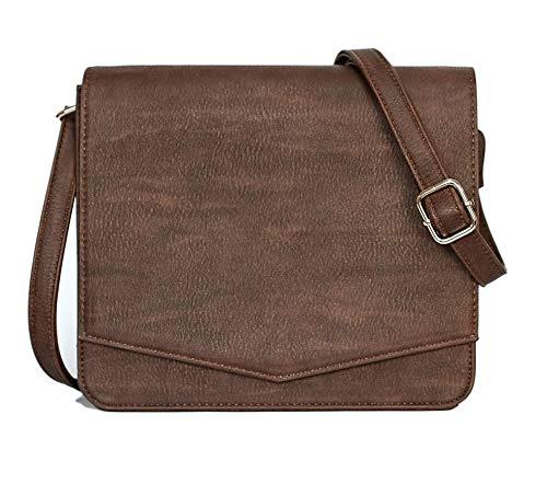 Crossbody Bag (Dark Brown)