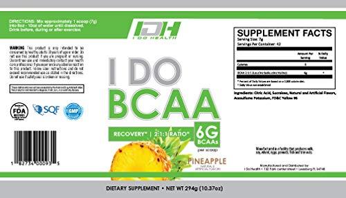 I Do Health Bcaa Pineapple