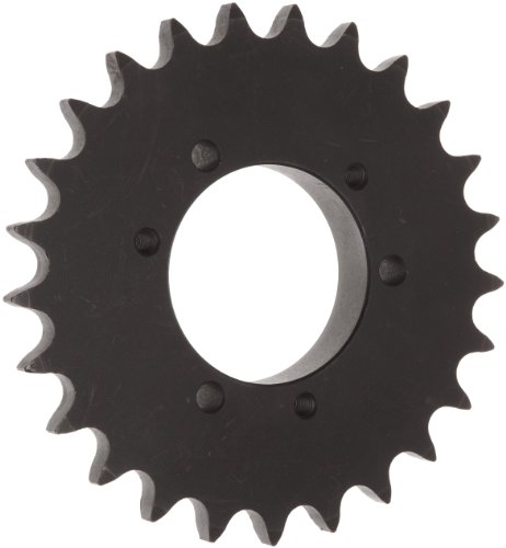 Martin Roller Chain Sprocket, QD Bushed, Type B Hub, Single Strand, 50 Chain Size, For Sds Bushing, 0.625