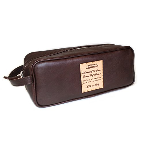 Terrida Marco Polo pochette - LE1127 (Dark Brown) by Terrida