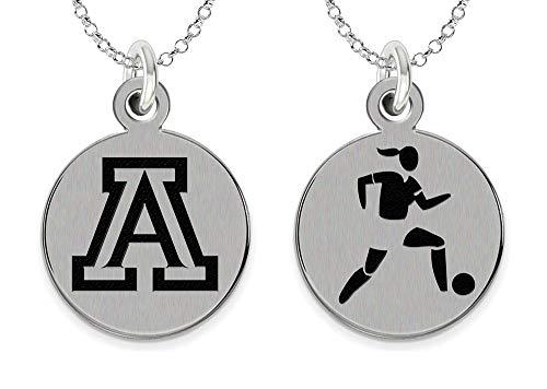 College Jewelry Arizona Wildcats Women's Soccer Charm Necklace by College Jewelry