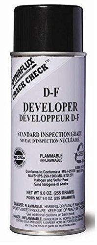 Dynaflux DF315-16 Nuclear Grade Developer, 16 oz. Aerosol Can
