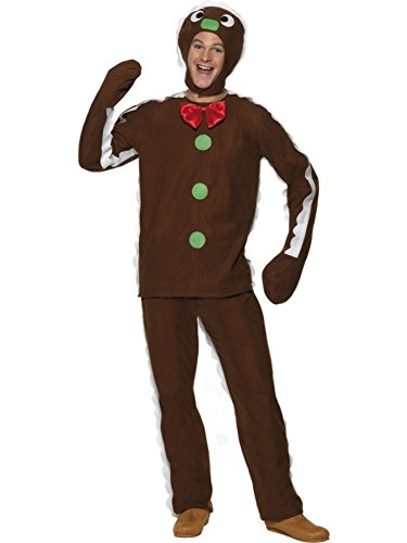 gingerbread toddlerchild costume mens