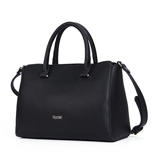 Kadell Women s Vintage Soft PU Leather Handbag Tot…