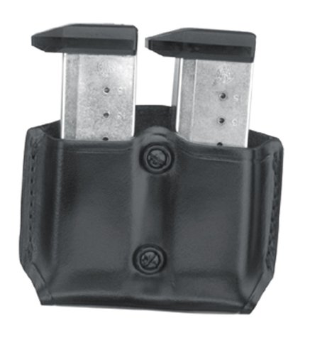 Gould & Goodrich B851-4 Gold Line Double Mag Case With Belt Loops (Rifle Mag Pouch Belt Loop)