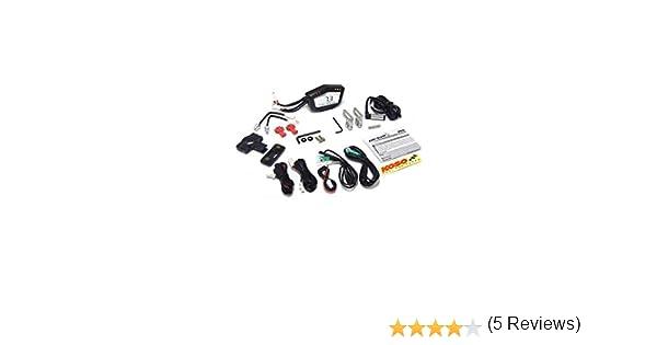 Speed//ODO//Trip//RPM//Temperatura Universal Tac/ómetro Koso Db AKC-02R Black Line Pantalla Digital