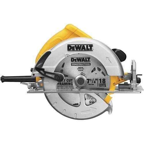 DEWALT DWE575 Heavy-Duty 7-1/4-Inch Lightweight Circular Saw Kit by - 1/4