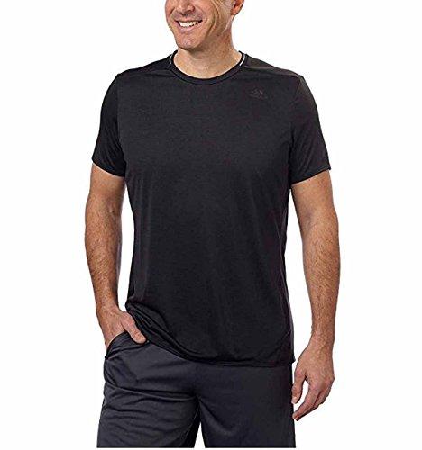 Adidas Short Sleeve Tee (Adidas Mens Nova Short Sleeve T-Shirt, Black, Medium)