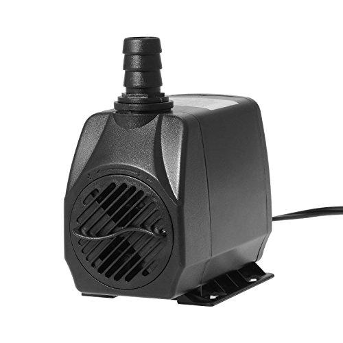 Pump Sump Gph - Esky EAP-03 550 GPH 2500L/H Submersible Pump for aquariums, fountains, spouts, ponds and More