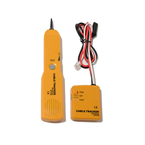 Generator Audio Test Tone (Cable Finder Tone Generator Wire Network Tester Tracer Tracker Probe KIT)