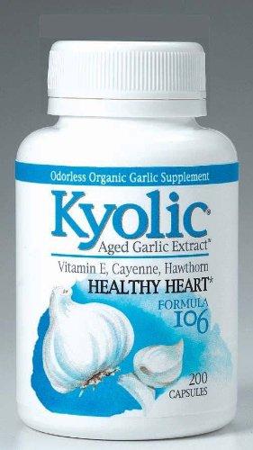 Kyolic #106 W/Vitamin E Cayenne 300 Cap