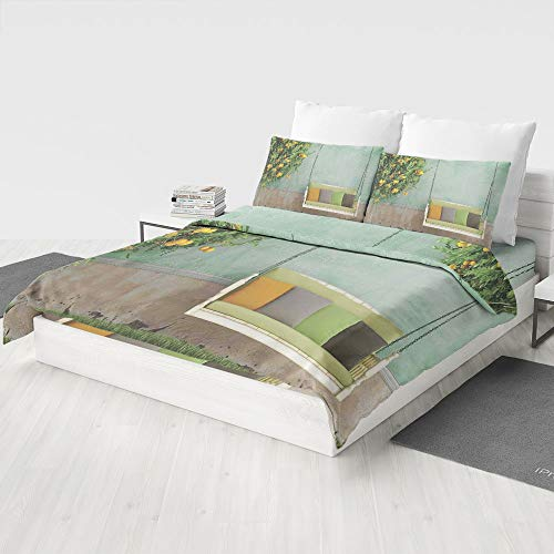 MASCULINTY 4 PCS Bedding Sets,Country Home Decor,Gifts for Family/Friends(Queen) -