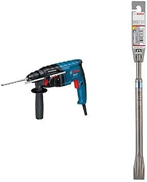 Bosch GBH 2-20 D - Martillo perforador (2.3 kg, 2.3 kg) + Cincel plano SDS-plus - 250 x 20 mm (pack de 1): Amazon.es: Bricolaje y herramientas