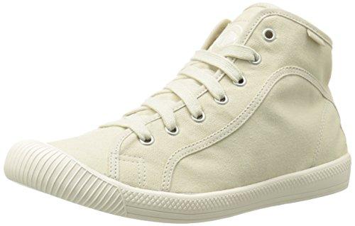 Sneaker Sneaker Avorio In Pelle Di Palladio