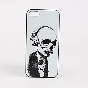 ZCL Earphone Pattern Hard Case for iPhone 5/5S