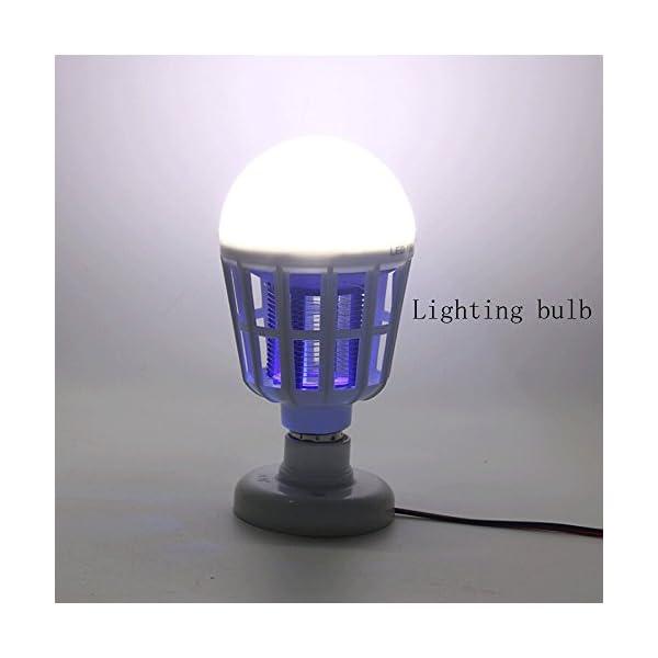 NUOVA Lampadina Anti-zanzara a LED, Mecohe 15W 1000LM 6500K Elettronico Mosca Insetto Fly Bug Zanzara Killer Bulb… 5 spesavip